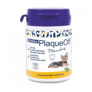 Soin dentaire PlaqueOff Proden en poudre pour chien et chat Pot 40 g