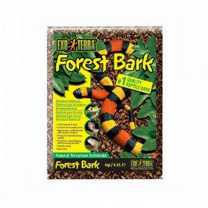 Substrat naturel écorces de pins Forest Bark pour reptile Exo Terra 4,4 litres