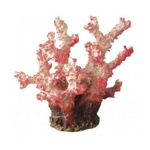 Décoration Corail rouge en résine