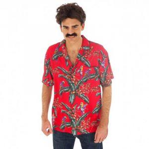 Déguisement Homme - Chemise Magnum Rouge - Taille M