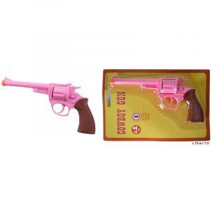 Pistolet Rose en Métal à 8 coups Cowgirl