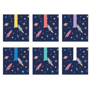 6 Sachets de Confiserie - Space Party