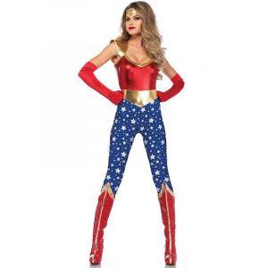 Déguisement Femme - Super-Héroïne Luxe - Taille L