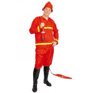 Déguisement de Pompier Homme - Taille Unique