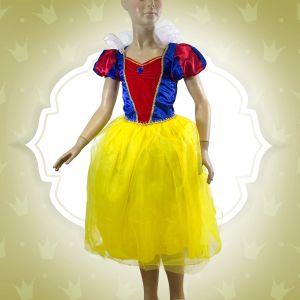 Déguisement Fille Princesse Blanche-Neige-6/8 ans