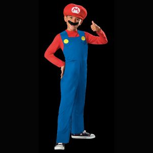 Déguisement Mario Bros Licence Enfant-10/12 ans
