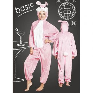 Costume de Cochon en peluche - 165 cm
