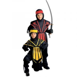Déguisement de Ninja Enfant - 9/10 ans Rouge
