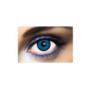 Lentilles Fantaisies - Bleu - Wolf - 1 Jour (Sans correction)