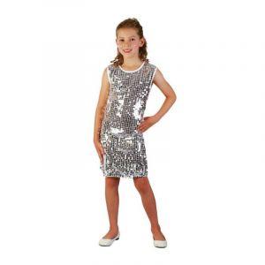 Déguisement Robe de Disco pour Fille - Taille 7/9 ans