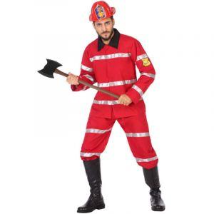 Déguisement Adulte Pompier - S