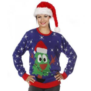 Pull de Noël - Adulte - Sapin - Taille S