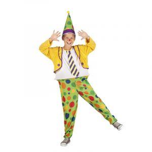 Déguisement et Chapeau Enfant Clown - Taille 4/6 ans