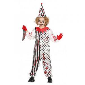Déguisement de Clown Zombie Enfant - Taille 7-9 Ans