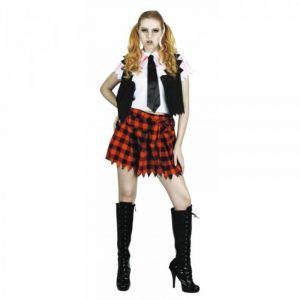 Déguisement Femme - Etudiante Zombie - Taille Unique