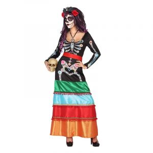Déguisement Day Of The Dead Femme - S