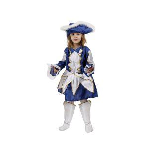 Déguisement Fille Majorette Bleu-10/12 ans