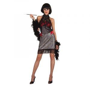 Déguisement Cabaret Becky Saloon Femme-XL