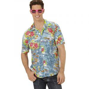 Chemise Hawaïenne Bleu - XL