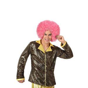 Veste Disco Or Brillant Homme-M/L