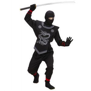 Déguisement Ninja Noir Enfant - 5/6 ans
