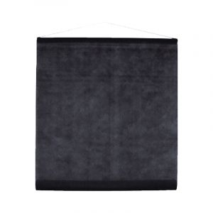 Tenture en tissu - Noir