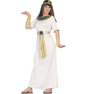 Costume Nefertiti Robe Blanche Femme - XL
