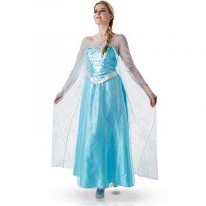 Déguisement pour adulte Elsa de la Reine des Neiges - Taille L