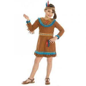 Déguisement Fille - Indienne Sioux - Taille 3-4 ans