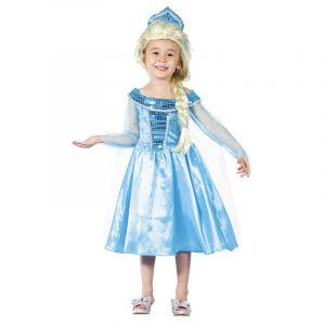 Déguisement princesse d'hiver bleu - 3/4 ans