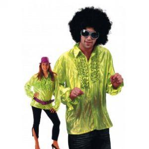 Chemise Star du Disco à froufrous - Vert - Taille M/L