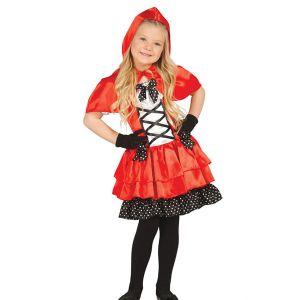 Déguisement fille Chaperon rouge - 7/8 ans