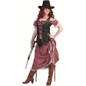 Déguisement Femme Cowboy Denim Ranger - Taille XL