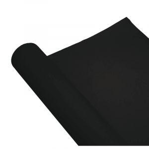 Chemin de table Airlaid - 0.4m x 10m - Noir