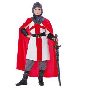 Déguisement enfant chevalier Croisé 10-12 ans