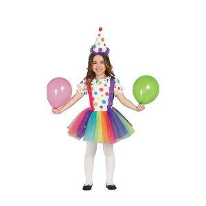 Déguisement Clown Fille 3-4 ans