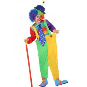 Déguisement Enfant Clown - Taille 7-8 ans