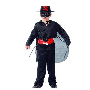 Déguisement de Zorro le Justicier Masqué-4/6 ans