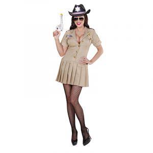 Déguisement de Sherif pour Femme - Taille S