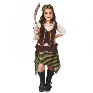 Déguisement Fille Pirate boucanière - 5/6 ans