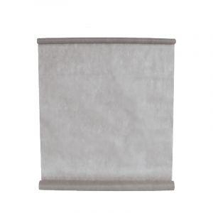 Tenture en tissu - Gris