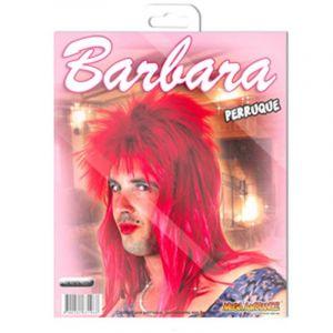 Perruque Rouge Barbara - Rock