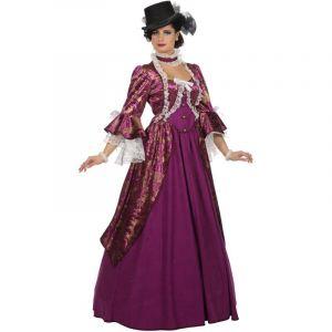 Déguisement Femme - Robe de Marquise - Violet - Taille XL