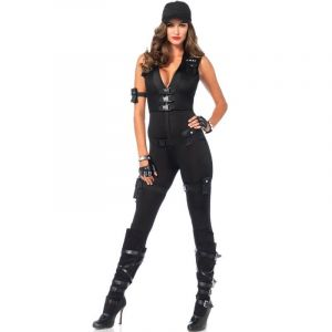 Déguisement Femme - SWAT Luxe - Taille S