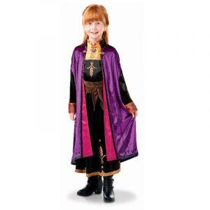Déguisement d'Anna de Luxe - La Reine des Neiges 2 - Enfant - Taille 7/8 ans