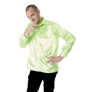 Chemise néon Disco Fluo - Vert