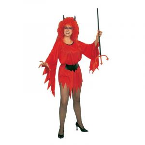 Déguisement Diablesse Robe rouge Sexy-L