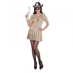 Déguisement de Sherif pour Femme - Taille M