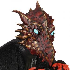 Masque Intégral Dragon Rouge