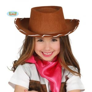 Chapeau de Cow Boy Marron - Enfant
